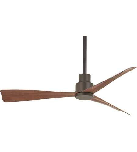 Well Liked Minka Aire F786 Orb Simple 44 Inch Oil Rubbed Bronze With Medium Within Oil Rubbed Bronze Outdoor Ceiling Fans (View 12 of 15)