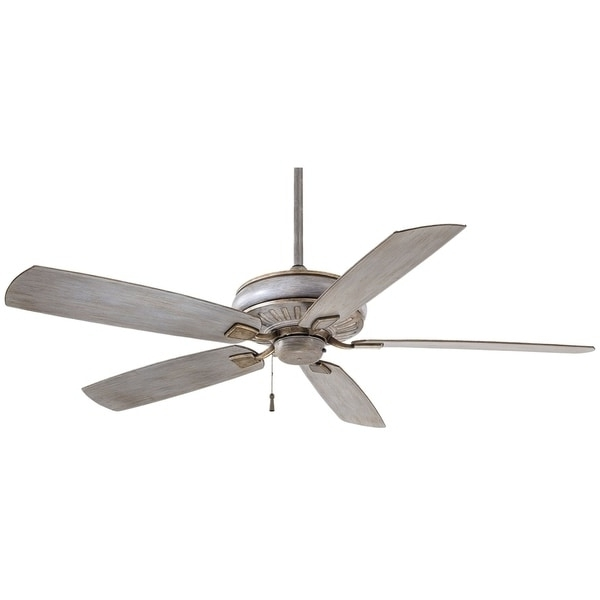 Well Liked Minka Outdoor Ceiling Fans With Lights For Shop Minka Aire Sunseeker Driftwood Finish Steel 60 Inch Outdoor (View 5 of 15)