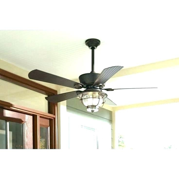 Well Liked Outdoor Ceiling Fans With Covers Pertaining To Outdoor Ceiling Fan Lights Fans Light With Remote Control Within No (View 11 of 15)