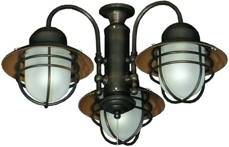 Well Liked Outdoor Ceiling Fans With Lantern With Bronze Outdoor Ceiling Fan 3 Lantern Ceiling Fan Adaptable Outdoor (View 15 of 15)