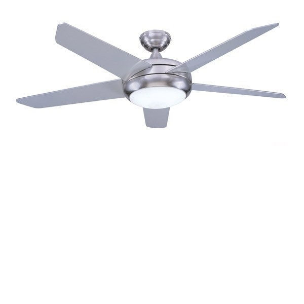 Well Liked Stainless Steel Outdoor Ceiling Fans With Light Intended For Ceiling: Extraordinary Stainless Steel Ceiling Fan Brushed Nickel (View 8 of 15)