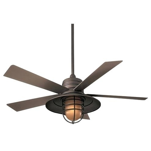 Wet Rated Outdoor Ceiling Fans With Light In Trendy Outdoor Ceiling Fan With Light Wet Rated Outdoor Lights Design With (View 6 of 15)