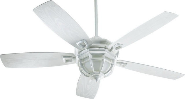 White Outdoor Ceiling Fans With Lights Pertaining To Well Known White Outdoor Ceiling Fan With Light – Tariqalhanaee (View 4 of 15)