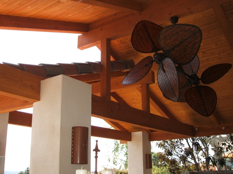Widely Used Ceiling Fan: Recomended Outdoor Ceiling Fan With Light Outdoor Intended For Large Outdoor Ceiling Fans With Lights (View 7 of 15)