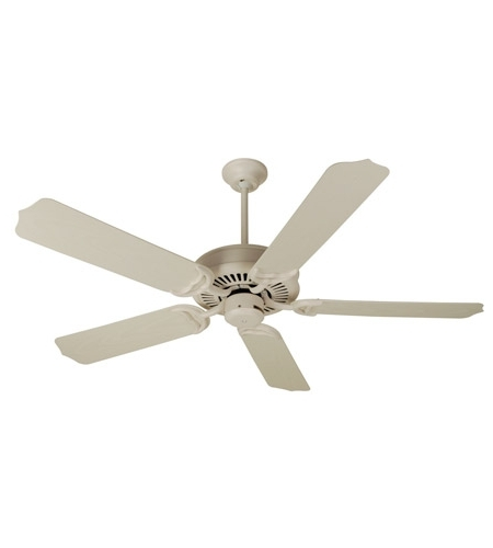 Widely Used Craftmade K10172 Porch 52 Inch Antique White Outdoor Ceiling Fan Kit In White Outdoor Ceiling Fans (View 15 of 15)