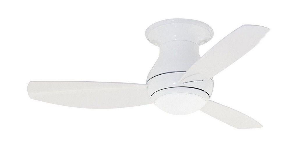 "Widely Used Emerson Fans Cf144lww Curva Sky – 44"" Outdoor Ceiling Fan With Light Regarding Emerson Outdoor Ceiling Fans With Lights (View 8 of 15)"
