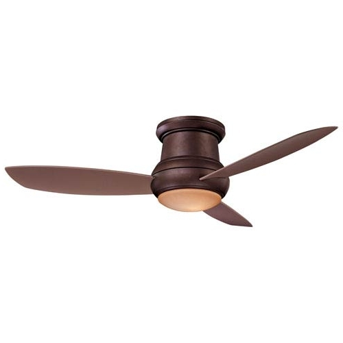 Widely Used Minka Aire Concept Ii Oil Rubbed Bronze 52 Inch Outdoor Led Ceiling For Minka Aire Outdoor Ceiling Fans With Lights (View 15 of 15)