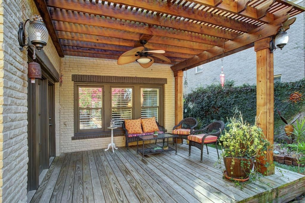 Widely Used Pergola Outdoor Fans For Pergolas Ceiling Under Fan – Adscafe With Regard To Outdoor Ceiling Fans Under Pergola (View 15 of 15)