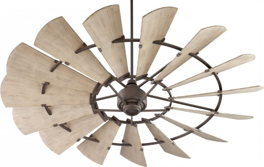 Windmill 72 Inch Outdoor Ceiling Fan In Oiled Bronze With 15 For Most Current 72 Inch Outdoor Ceiling Fans (View 2 of 15)