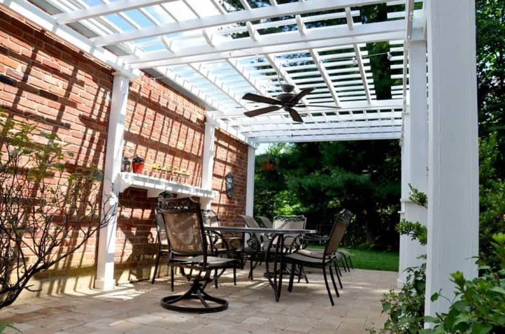Xtend Studio Throughout 2017 Outdoor Ceiling Fans Under Pergola (Gallery 14 of 15)