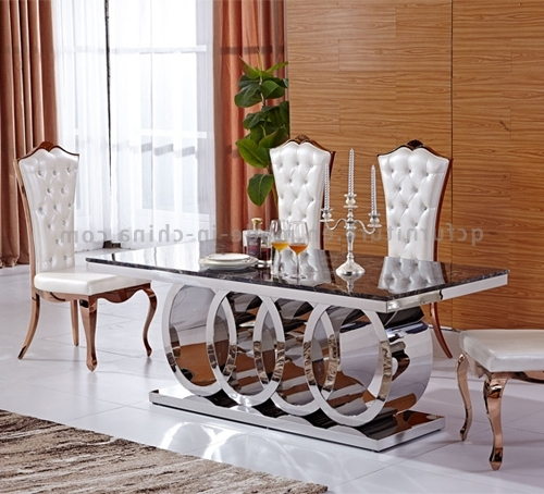 10 Seat Dining Tables And Chairs Inside Well Known China Most Popular Big Size 10 Seater Dining Table – China Dining (View 1 of 20)