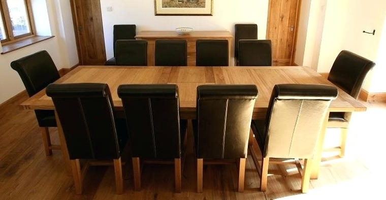 10 Seat Dining Tables And Chairs Within Well Known 10 Seater Round Dining Table Adorable Chair Dining Table Seats For A (View 6 of 20)