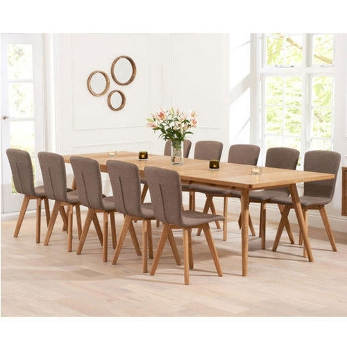 10 Seater Dining Tables And Chairs Pertaining To Best And Newest 10 Seater Dining Table Set At Rs 65500 /set (View 10 of 20)