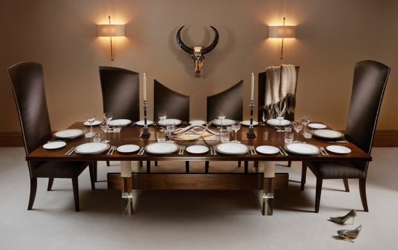 10 Seater Dining Tables And Chairs Pertaining To Trendy The Curve', 10 Seater Dining Table And Chairs From The Posh Trading (View 6 of 20)