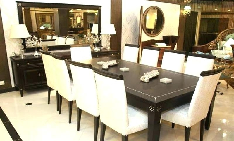 10 Seater Dining Tables And Chairs With Regard To Best And Newest Dining Table With 10 Chairs Dining Table Set 10 Seater Dining Table (Gallery 12 of 20)
