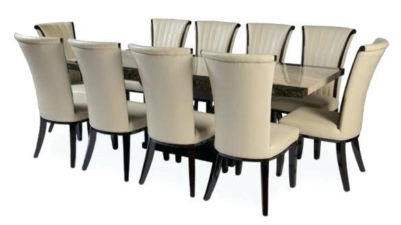 10 Seater Dining Tables And Chairs With Regard To Most Current 10 Seater Round Dining Table Adorable Chair Dining Table Seats For A (Gallery 9 of 20)