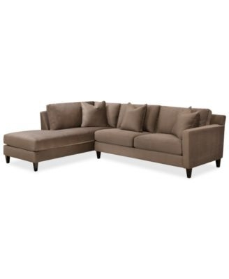 $1169 Adeline Fabric 2 Piece Sectional Sofa Sectional Sofa Regarding Popular Adeline 3 Piece Sectionals (View 5 of 15)