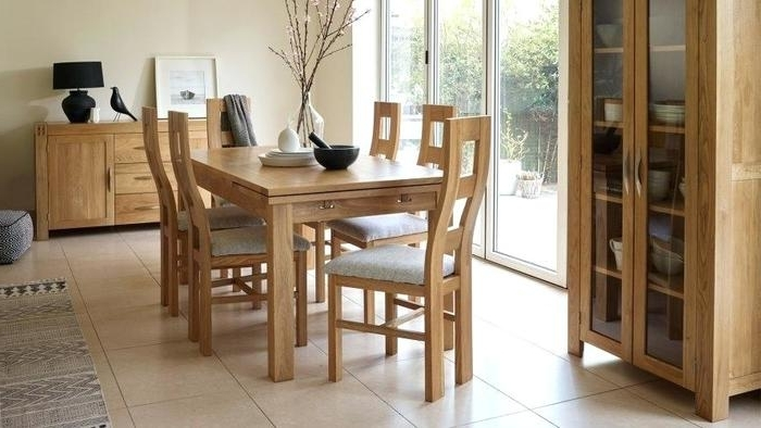 12. Prepossessing Dining Room Sets Oak Decor With Dining Table Regarding Famous Oak Dining Suites (Gallery 10 of 20)