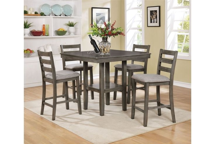 14 Best Stools Images On Pinterest Pertaining To Latest Jameson Grey 5 Piece Counter Sets (View 1 of 20)