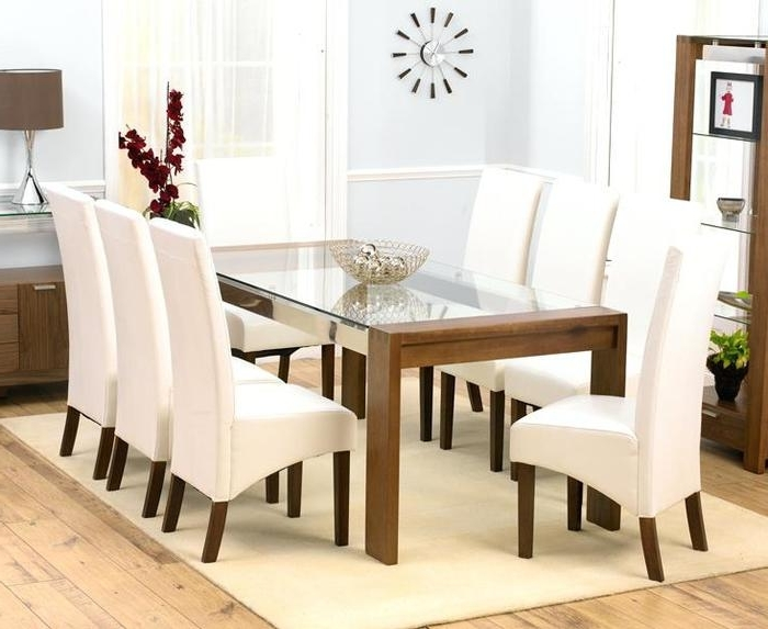 17. 8 Seater Dining Table And Chairs Dining Tables Inspiring 8 Round For Most Up To Date Dining Tables And 8 Chairs (Gallery 5 of 20)