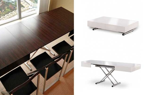 17 Genious & Affordable Ideas (Must See!) Pertaining To Dining Tables With Attached Stools (View 1 of 20)