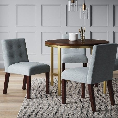 "$173 40"" Antwerp Modern Round Dining Table – Project 62™ : Target Within Well Known Macie Round Dining Tables (View 5 of 20)"