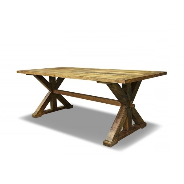 180Cm Dining Tables Within Well Known Luigi Dining Table 180Cm Recycled Elm (View 7 of 20)