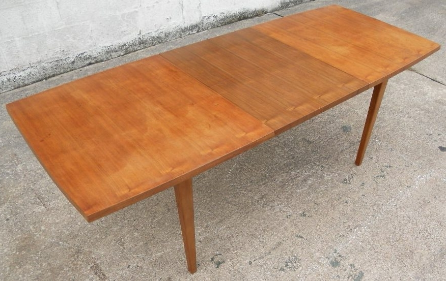 1960 S Retro Teak Wood Extending Dining Table To Seat Eight – Sold With Latest Retro Extending Dining Tables (View 1 of 20)
