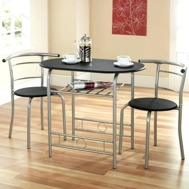 2 Person Kitchen Table Set 2 Person Kitchen Table Set Two Chair Intended For Recent Dining Table Sets For  (View 1 of 20)
