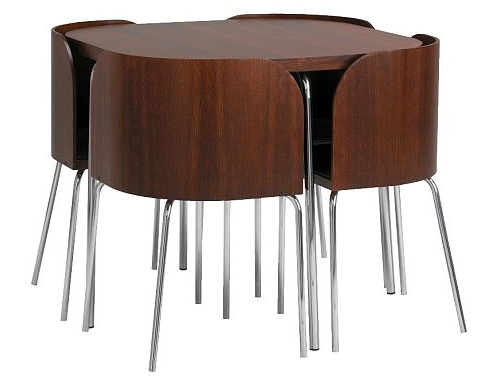2017 17 Stunning Compact Dining Table And Chairs For Your Dining Room Throughout Compact Dining Room Sets (View 1 of 20)