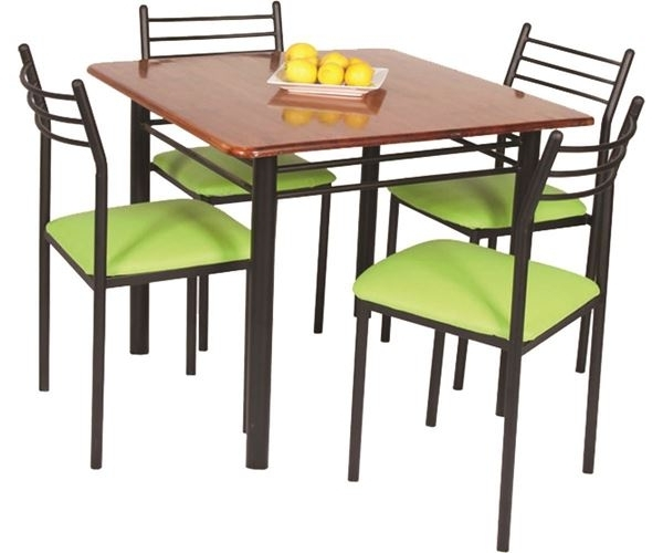 2017 Buy Lelin Four Seater Dining Table Set Online (View 2 of 20)