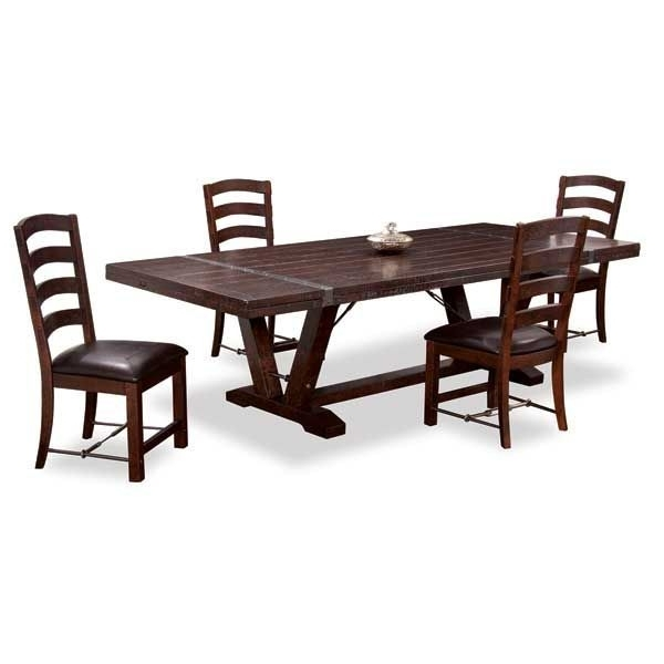 2017 Castlegate 5 Piece Dining Set D942 5Pc American Furniture Warehouse Regarding Jaxon 5 Piece Extension Counter Sets With Wood Stools (Gallery 16 of 20)