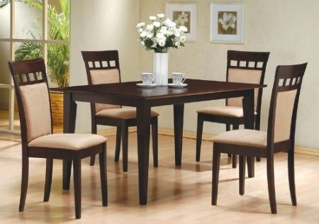 2017 Dining Tables And Chairs Sets With Regard To Dining Table And 6 Chairs (Gallery 14 of 20)