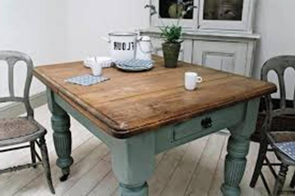 2017 Diy Small Farmhouse Dining Table : Home Design – Great Ideas For Intended For Helms Round Dining Tables (View 1 of 20)