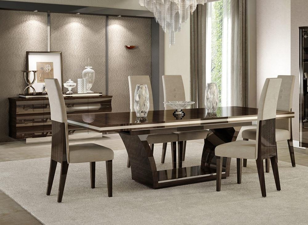 2017 Giorgio Italian Modern Dining Table Set Regarding Contemporary Dining Tables (View 2 of 20)