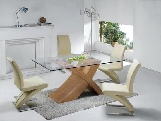 2017 Glass Dining Tables With Oak Legs With Regard To 5 Tips To Help You Buy Dining Table And Chairs – Fif Blog (View 1 of 20)