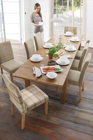 2017 Hartford® 6 10 Seater Large Extending Dining Table From Next With Regard To 10 Seater Dining Tables And Chairs (View 15 of 20)