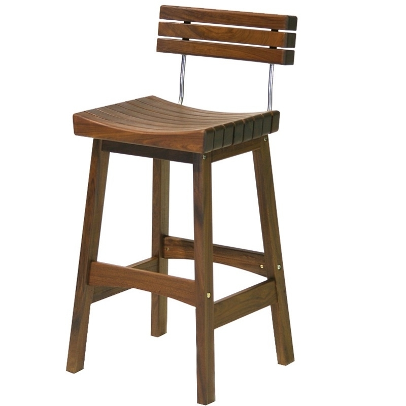 2017 Jensen Leisure Sunset Stool With Back Throughout Jensen 5 Piece Counter Sets (View 1 of 20)