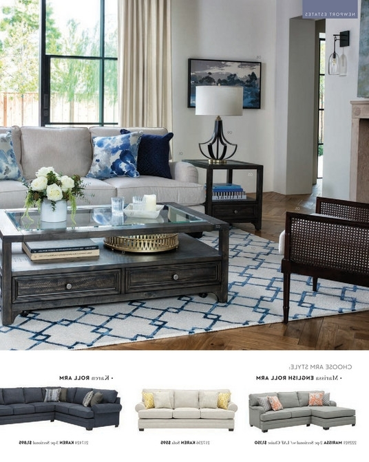 Featured Photo of Josephine 2 Piece Sectionals With Laf Sofa