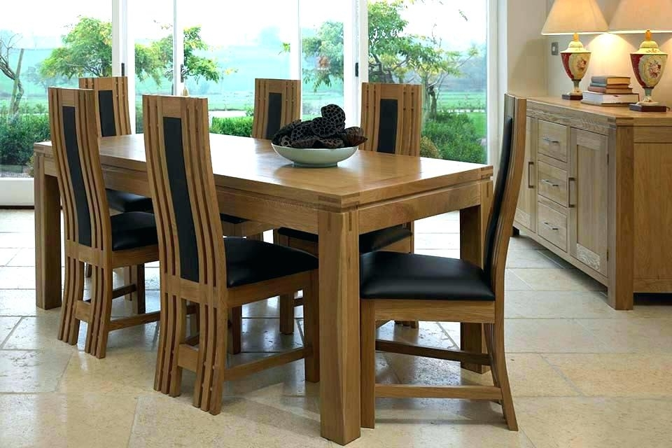 2017 Kitchen Table With 6 Chairs 6 Chair Dining Table Set New Chairs With 6 Chair Dining Table Sets (View 2 of 20)