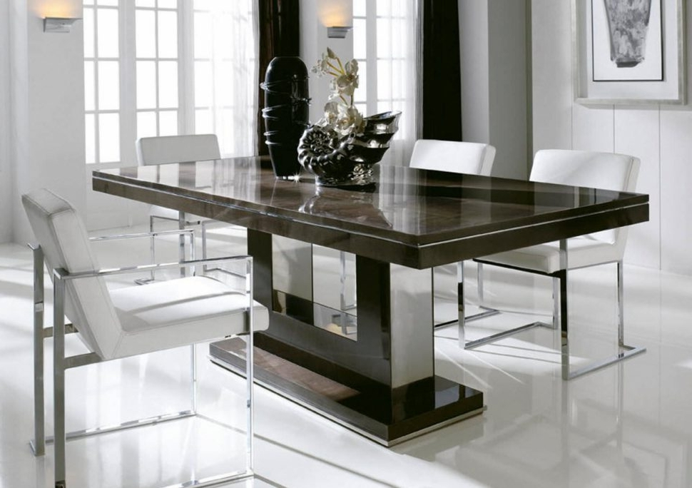 2017 Modern Dining Table Designs Rectangular Tables Room Sets For Small Throughout Rectangular Dining Tables Sets (View 1 of 20)