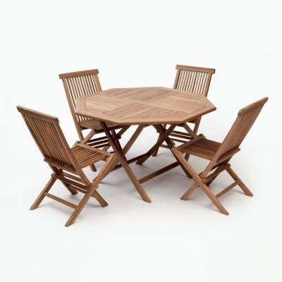 2017 Outdoor Brasilia Teak High Dining Tables With 4 5 Person – Teak – Wood Patio Furniture – Patio Dining Sets – Patio (View 16 of 20)