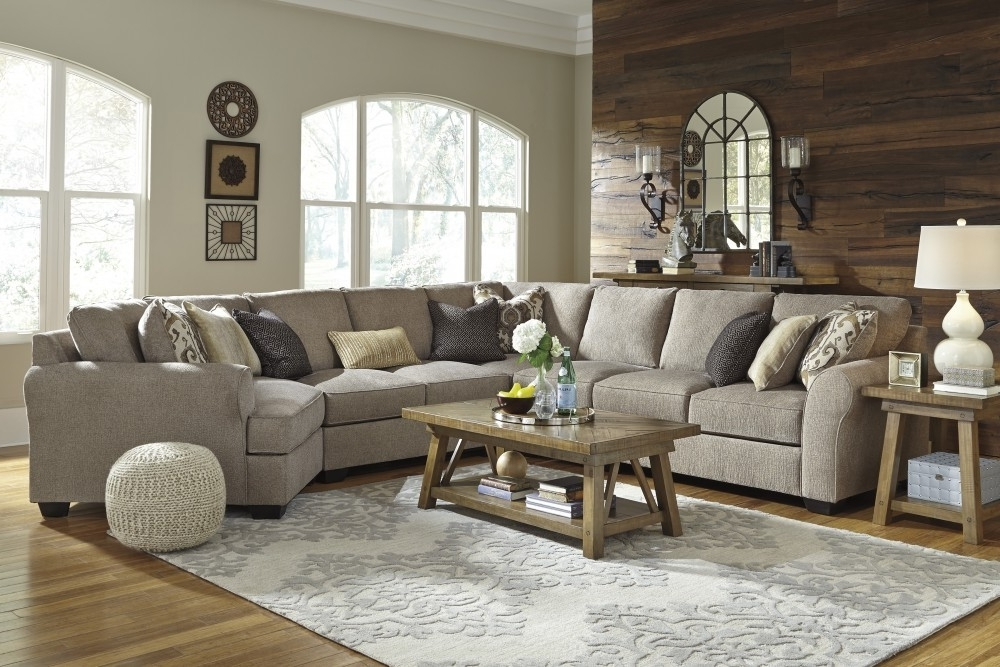 2017 Raf Sectional Turdur 3 Piece W Loveseat Living Spaces 223462 0 Jpg Pertaining To Turdur 3 Piece Sectionals With Laf Loveseat (View 5 of 15)