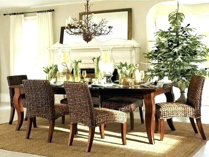 2017 Rattan Dining Tables And Chairs Pertaining To Wicker Dining Table And Chairs Room Set Rattan Sets Round With (View 2 of 20)