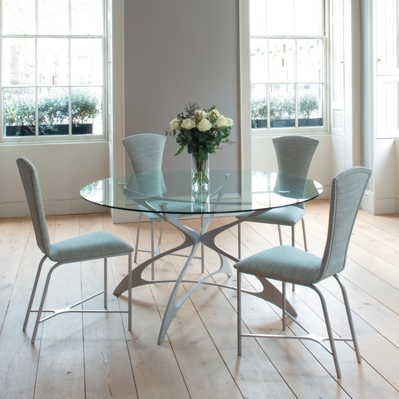 2017 Round Kitchen Table Set For 4: A Complete Design For Small Family Throughout Small Round Dining Table With 4 Chairs (View 3 of 20)