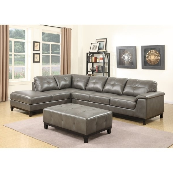 2017 Shop Emerald Home Marquis 3 Piece Sectional With 6 Seats – Free In Haven 3 Piece Sectionals (View 1 of 15)