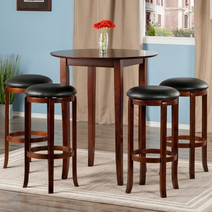 2017 Top Brilliant Winsome Pub Table Pertaining To Property Ideas Pertaining To Cora 5 Piece Dining Sets (Gallery 16 of 20)