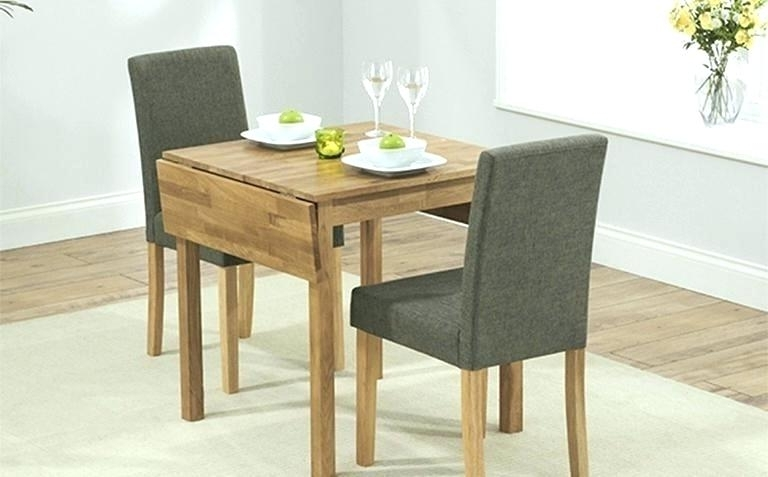 2017 Two Chair Dining Tables For Table And Two Chairs Dining Tables Two Chair Dining Table Set Small (Gallery 7 of 20)