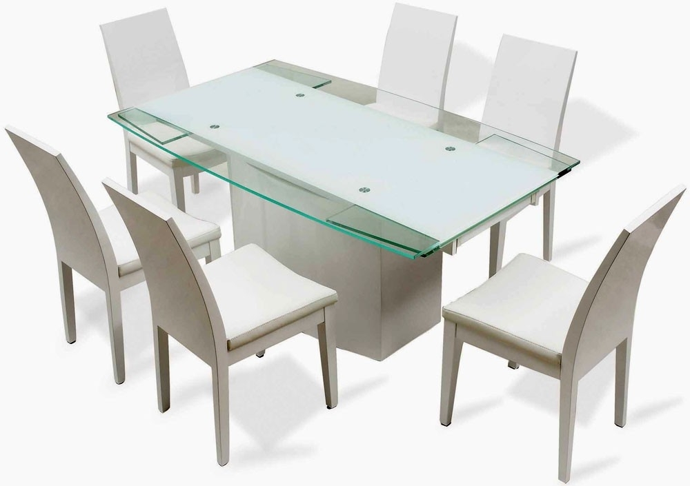 2017 Vogue Dining Tables Regarding Vogue Dining Table – J Star Modern Furniture (View 1 of 20)