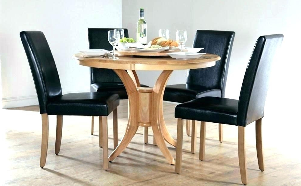 2017 White Dining Tables Sets Regarding Small Round White Dining Table – Npedal (View 1 of 20)